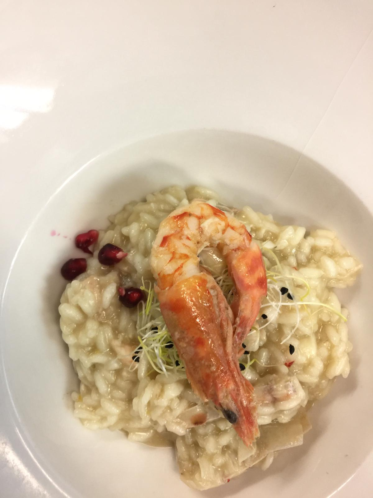 James Bond Damedeo - Risotto crostacei e agrumi
