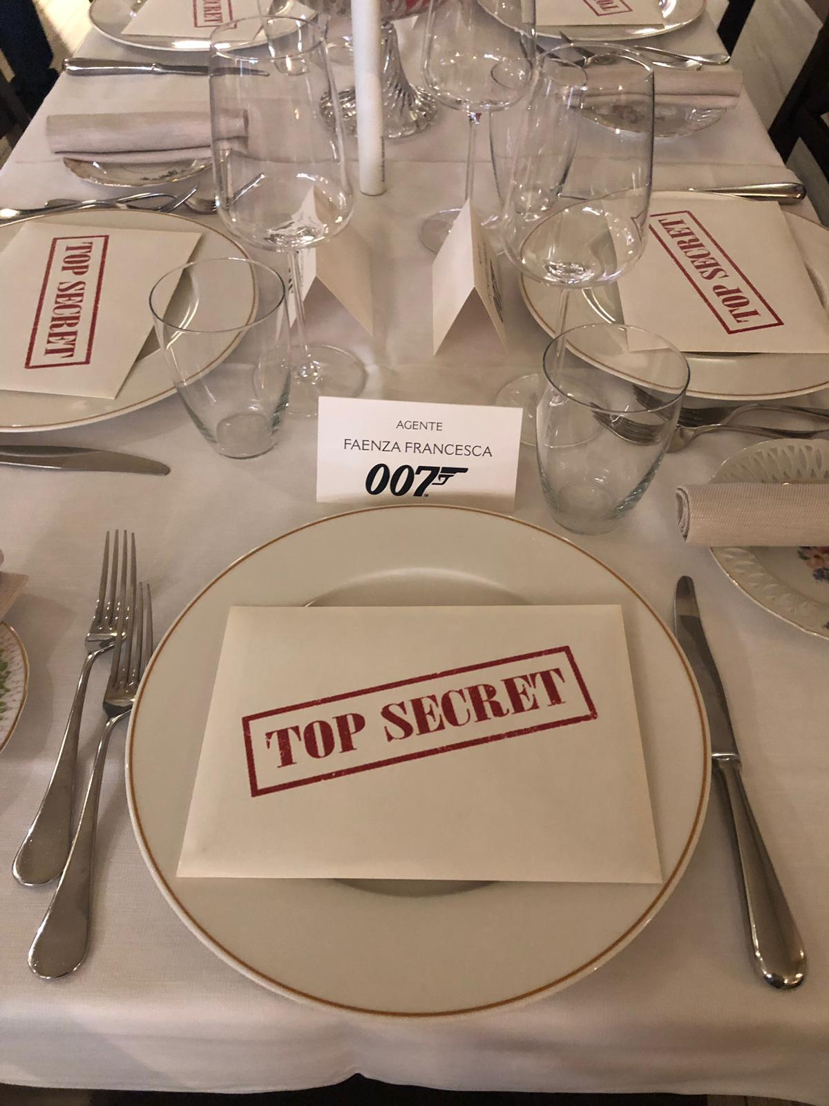 James Bond Damedeo - Mise en place
