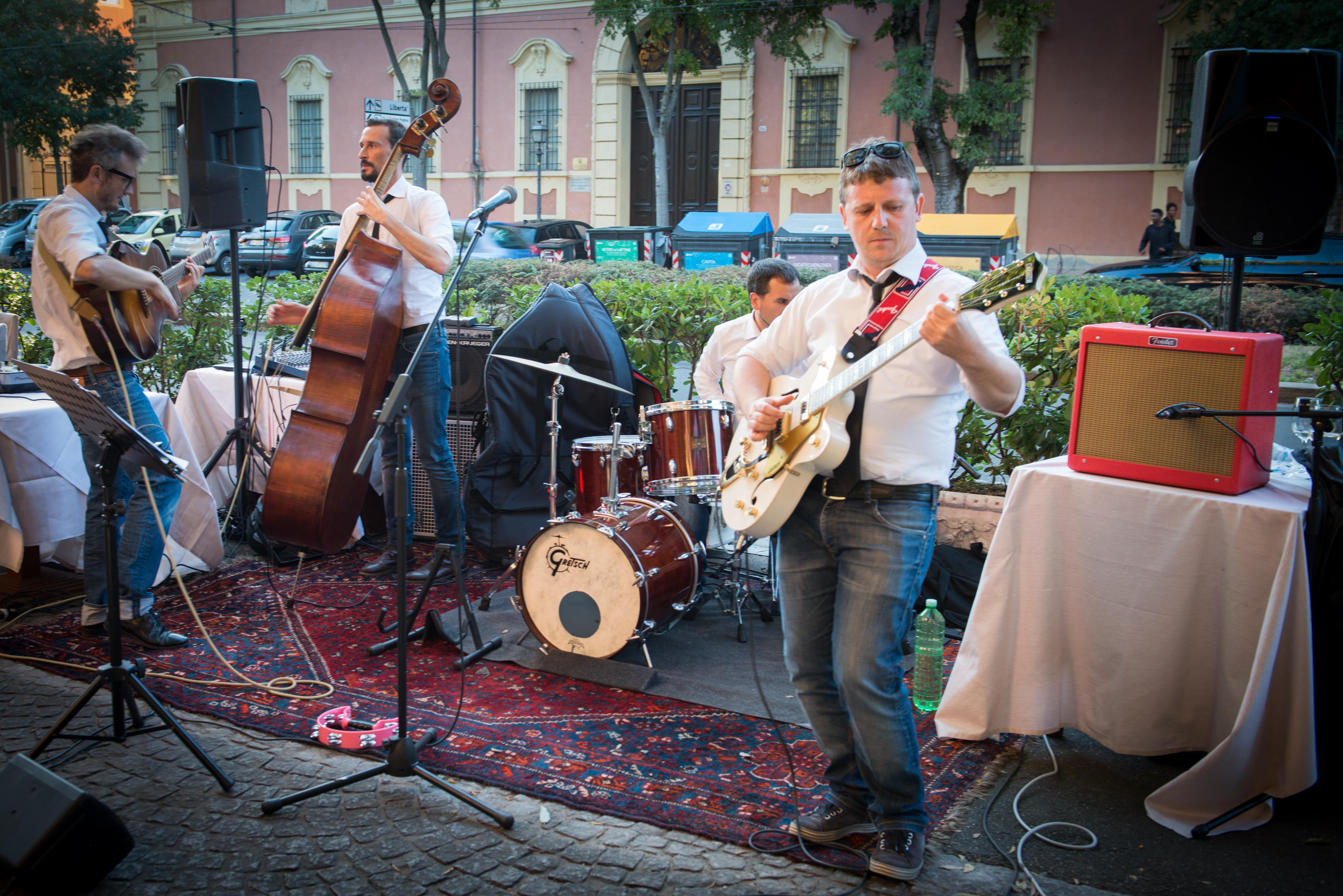 Inaugurazione Damedeo - Musica