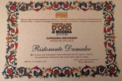 Premiazione Tortellino D'Oro 2018