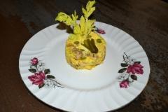 Insalata di polloin crema di maionese fatta in casa